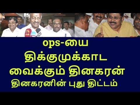 dinakaran support mlas privately files case against ops|tamilnadu political news|live news tamil