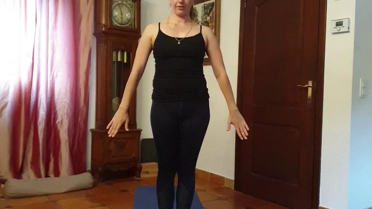 Morning yoga- Sun Salutation - Sarya Namaskar - YouTube