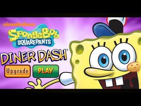 SpongeBob Diner Dash - IPhone & IPad Gameplay Video