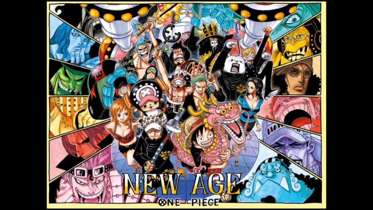 One Piece Opening 1 We Are (New Version 2013) - YouTube