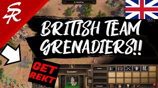 British Grenadiers TEAM Strategy! | Strategy School | Age of Empires III