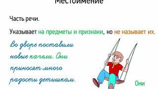 Местоимение (5 класс, видеоурок-презентация)