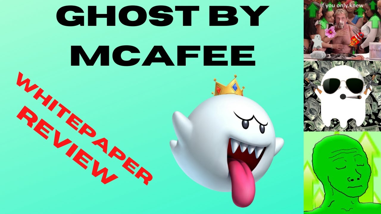 GHOST - John McAfee Made Own (Private) BITCOIN — WHITE PAPER OUT! Swap With Switch/ESH - MORE PUMP? 7