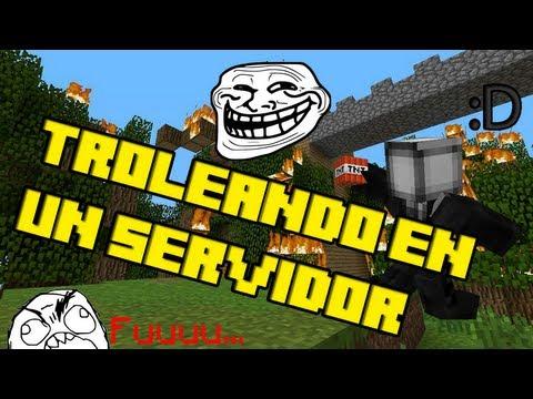 Troleando en un Servidor   ◙| Ñeñe! killercreeper55