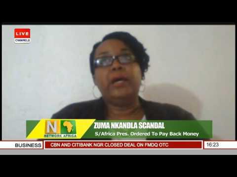 Network Africa: Channelstv S.Africa Bureau Chief Gives Update On Zuma Nkandla Scandal