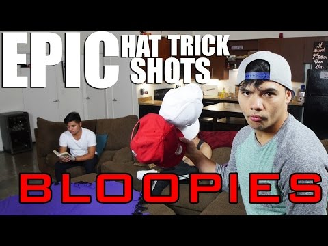 BLOOPIES: EPIC HAT TRICK SHOTS!