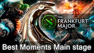 Best Moments of Frankfurt Major Main stage highlights