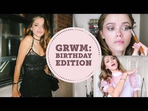 Get Ready With Me: Hair, Makeup, Outfit | Birthday Edition