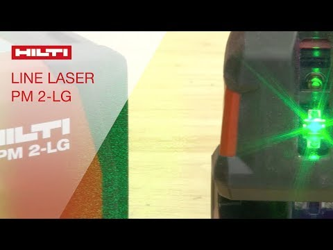 REVIEW of the Hilti green-beam line laser PM-2 LG