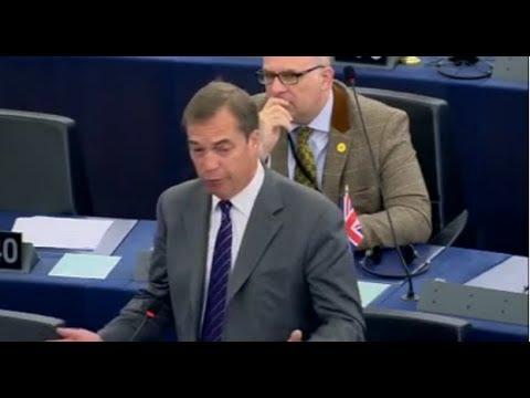 Nigel Farage Blasts EU Political Elite for Undermining BREXIT
