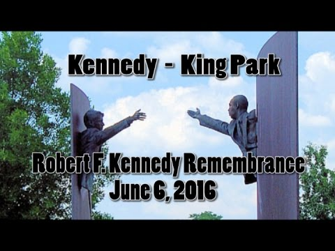 Robert F. Kennedy Remembrance June 6, 2016 Kennedy - King Park Indianapolis, In