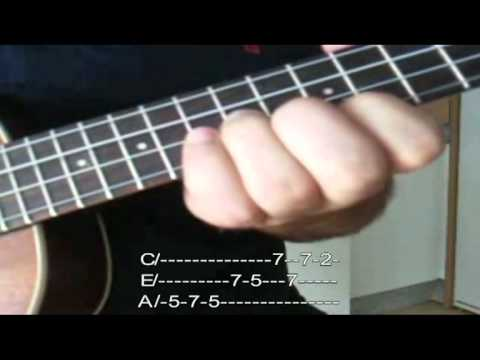 Dirty Old Town Version Ukelele Youtube