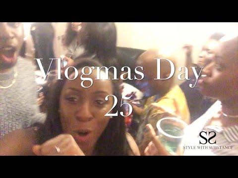 Vlogmas Day 25 - Christmas Day With The Family: Food, Karaoke & Lots of Dancing