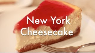Tarta de Queso - New York Cheesecake - Receta resumida