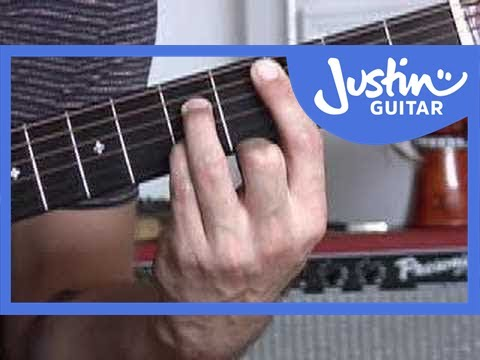 Basic Barré Chords #4of4 (Guitar Lesson CH-006) How to play - YouTube