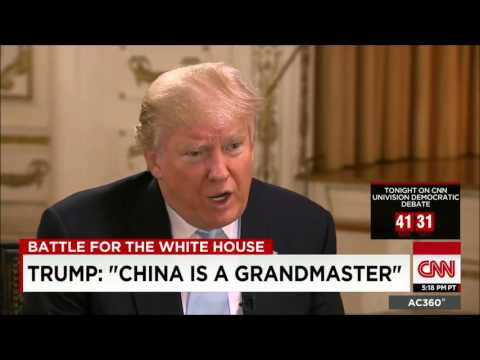 Donald Trump Full Interview With Anderson Cooper (3/9/16)