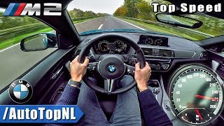 2018 BMW M2 AUTOBAHN POV | ACCELERATION & TOP SPEED by AutoTopNL