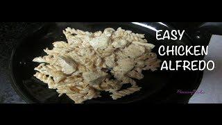 Easy Chicken Alfredo!~piecesofnika