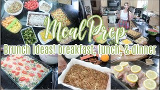 Incredible New Recipes! Meal Prep With Me!  Brunch Ideas, Call The Food Network These Are Delish