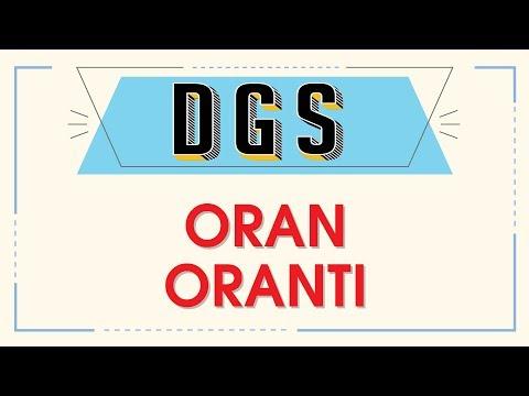 DGS - ORAN ORANTI - ŞENOL HOCA