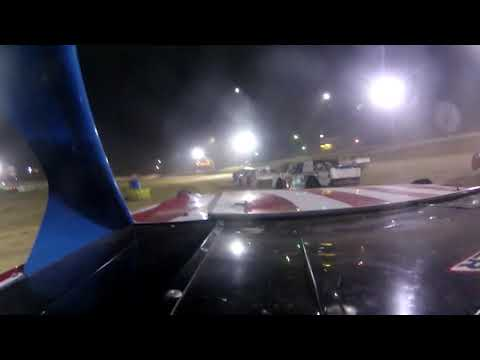 Ride along with Ronald Pyles on board the #68x Street Stock in the Heat Race and the feature for 25 Laps after Starting in 9th place at Elkins Raceway. - dirt track racing video image