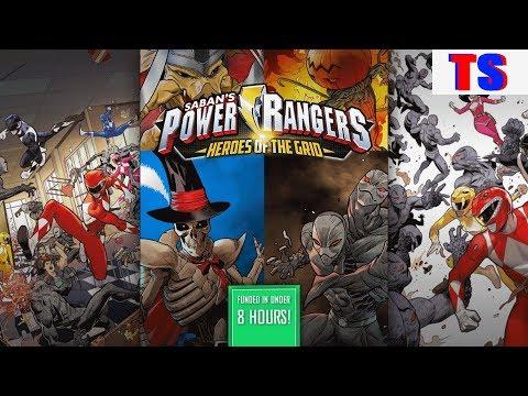 Power Rangers Heroes of the Grid Kickstarter Breakdown