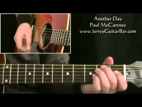 How To Play Paul McCartney Another Day (preview only)