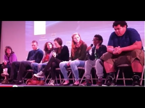 Our Children's Trust Panel at the Portland EcoFilm Festival, April 12, 2015