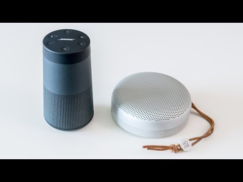 Bose Soundlink Revolve vs B&O Beoplay A1 - soundcheck