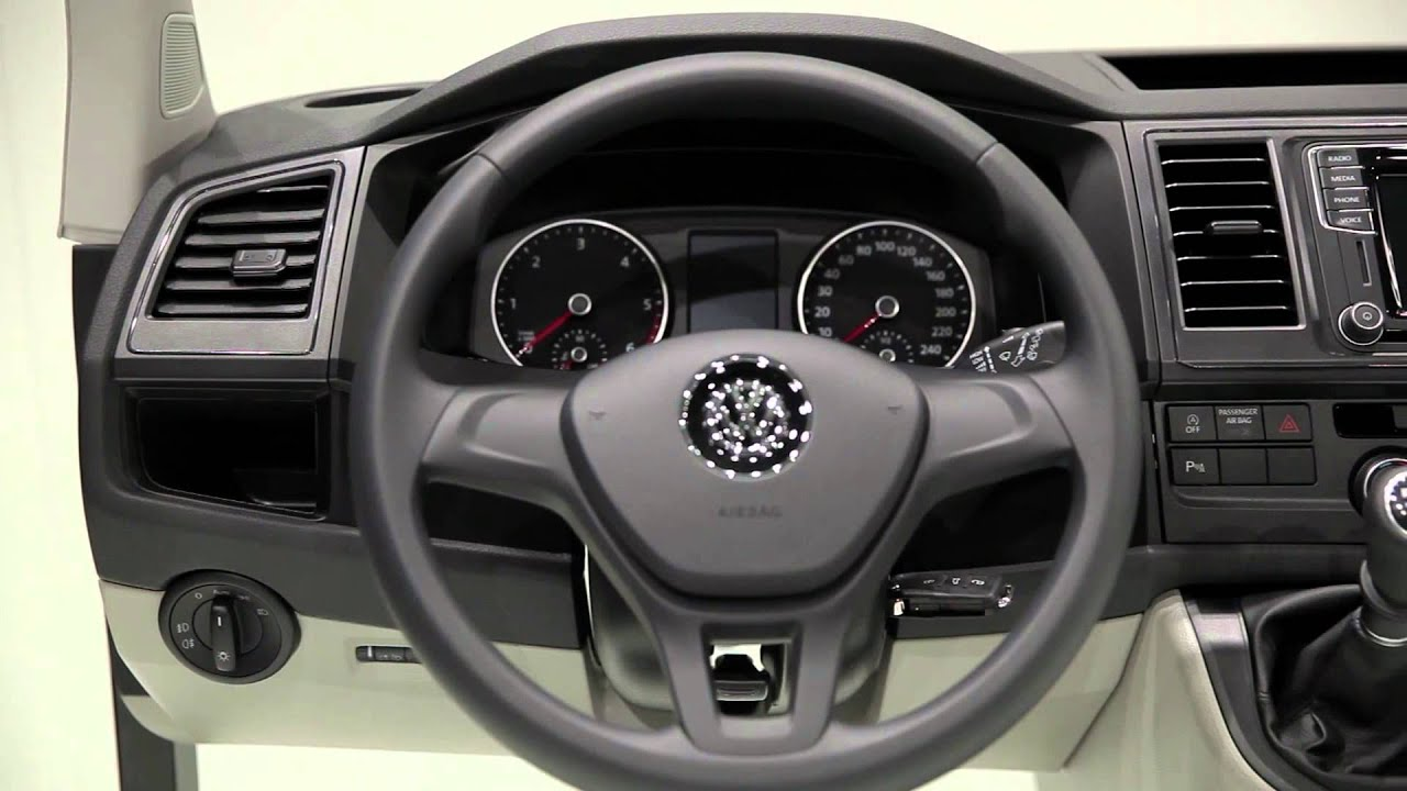 Volkswagen Transporter Generation Six Interior Design | AutoMotoTV ...