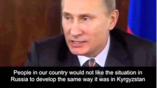 Putin on Hillary Clinton.