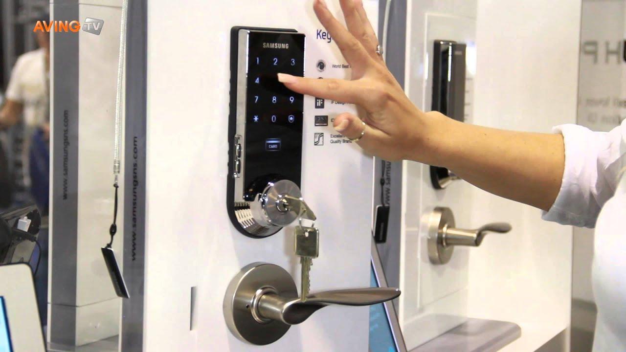 Samsung Sns A Cutting Edge Digital Door Lock Shs 3320