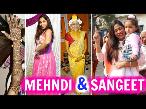 My Cousin's MEHNDI & SANGEET - A Day In My Life | ShrutiArjunAnand