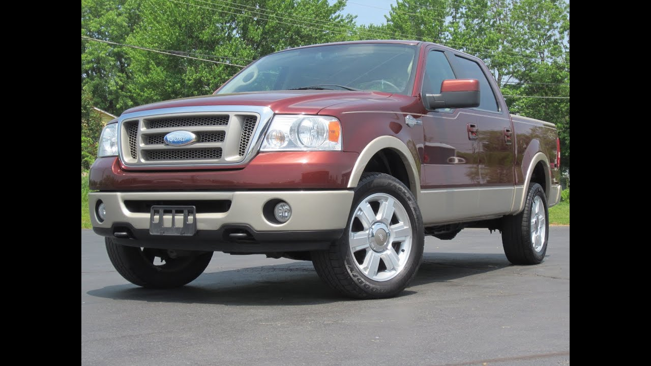 2007 Ford F150 King Ranch 4x4 Loaded 54l Triton Crew Cab Sold