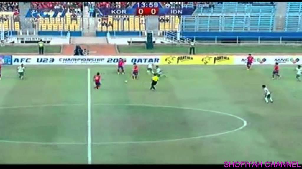 Timnas Indonesia U23 Vs Timnas Korea Selatan 0 4 31