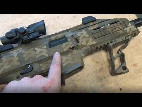 Bespoke Airsoft Vlog 31 - Spray The Scorpion EVO In Bespoke Camo