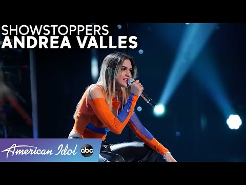 """""""Blinding Lights"""" by The Weeknd gets the Andrea Valles Touch - Amerian Idol 2021"""