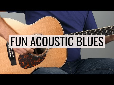 Master Acoustic Blues Guitar Fingerpicking and Soloing Fingerstyle Blues Guitar