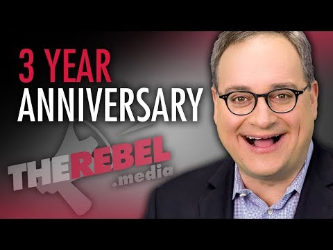 "Ezra Levant: The Rebel marks 3 YEARS bringing ""the other side of the story"""