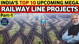 TOP 10 UPCOMING MEGA RAILWAY LINE PROJECTS IN INDIA | India's Mega Projects | Indian Railways screenshot 1