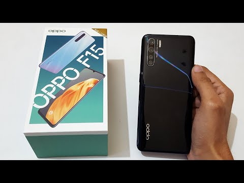 OPPO F15 Unboxing & Quick Review - Quad Rear Cameras & Great Looks