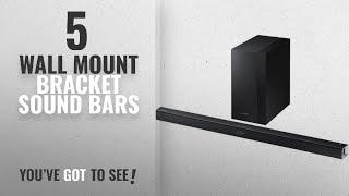 Top 5 Wall Mount Bracket Sound Bars [2018]: Samsung 2.1 Channel 300 Watt Sound Bar with Wireless