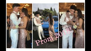 2018 PROM VLOG! GET READY WITH US! COUPLES EDITION!! KALI Y GAMI