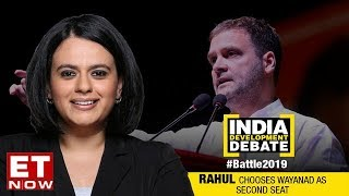 Rahul Gandhi Chooses Wayanad As Second Seat   Battle 2019   India Development Debate