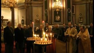 Передана икона в собор святого Александра Невского в Париже(В этот же день о. Евгений отслужил панихиду по усопшим соотечественникам, ушедшим в изгнание. За богослужен..., 2014-03-21T19:43:36.000Z)