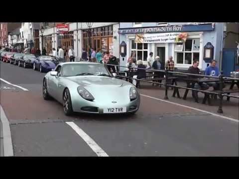 TVR's At Poole Quay 2013