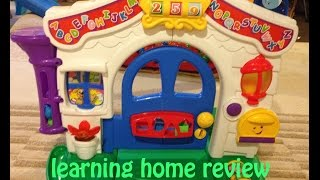 Fisher Price Learning Home BUY USED, HERE'S WHY!!!!