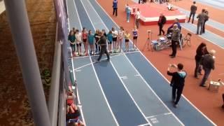 Lena II miejsce 600m - II Halowe Ogólnopolskie Mistrzostwa