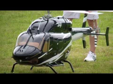Gigantic Bell 429 Global Ranger Scale Turbine RC Helicopter A.L.K Model Show