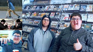 BLU-RAY HUNTING WITH PAUL FLORES ON A SCOOTER - 2-9-19
